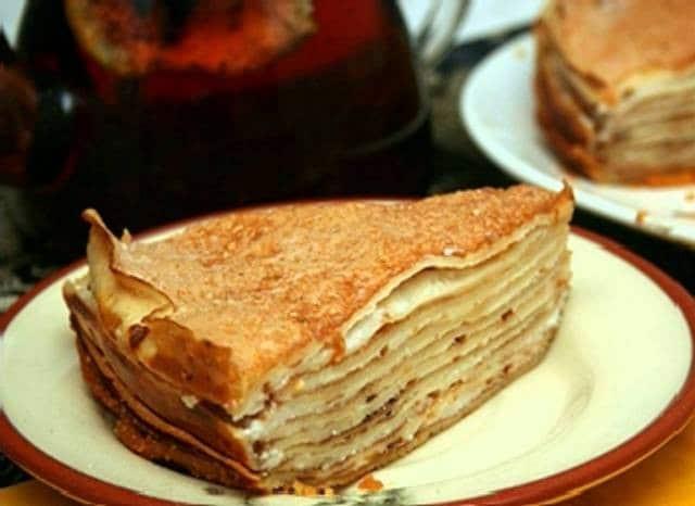 Блинный торт пошаговый рецепт