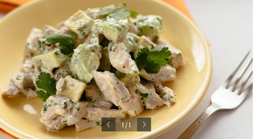 рецепты салатов из креветок пошаговые