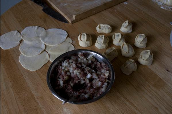 Манты рецепт приготовления с фото как лепить