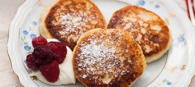 Сырники из творога на сковороде – классический рецепт