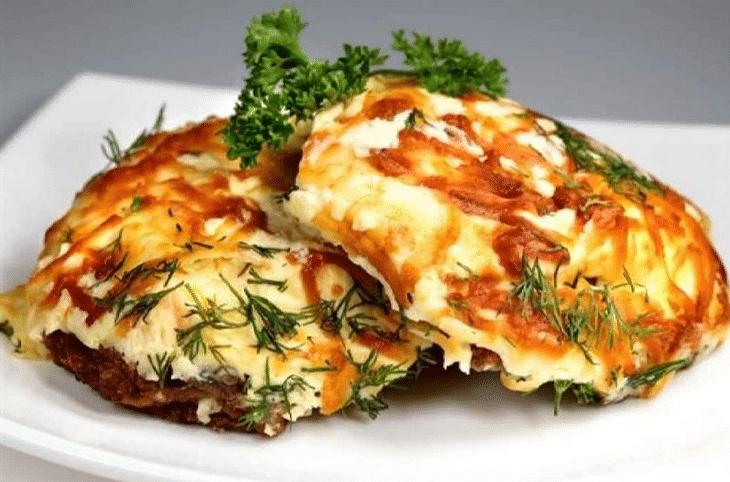 Мясо по-французски с картошкой классичесский рецепт