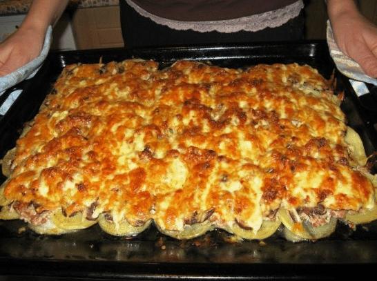 Блюда из фарша в духовке