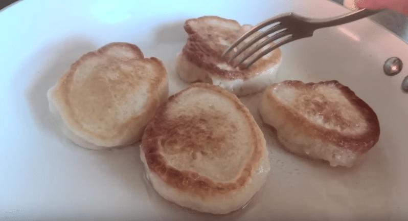 Пышные оладьи на кефире и молоке