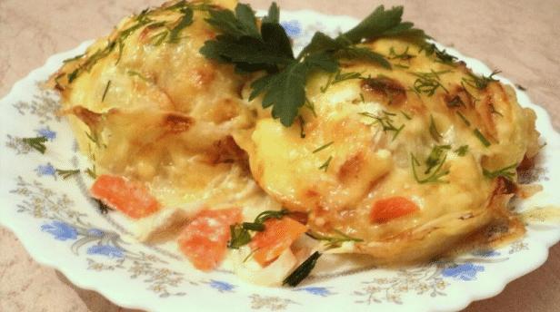 Рецепт минтая в духовке