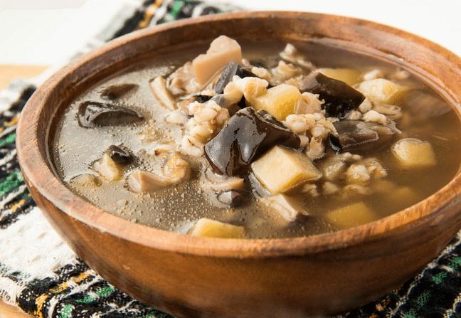 Грибной суп из замороженных и сушеных грибов. Рецепт вкусного грибного супа