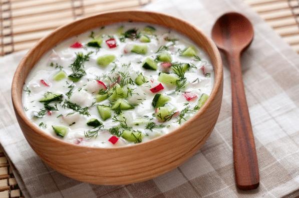 Рецепт классической окрошки на квасе с колбасой, как приготовить вкусную окрошку