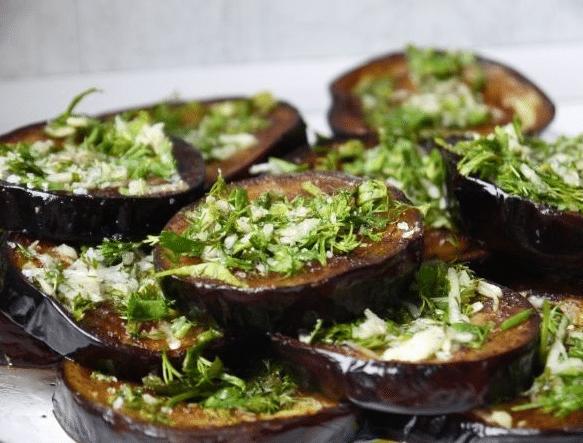 Как вкусно пожарить баклажаны на сковороде фото рецепт