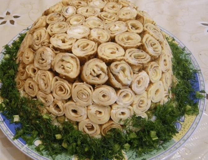Вкусные салаты слоеные на новый год 2018