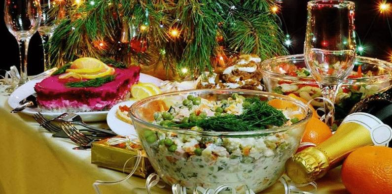 рецепты Новогоднее меню  2018