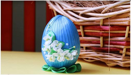 Пасхальное яйцо пошаговое фото