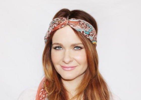 как завязать шарф на голове разными способами