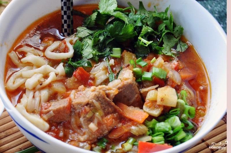 Лагман в домашних условиях: рецепт приготовления лагмана по-узбекски от А до Я