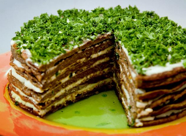 Печеночный торт: рецепт из куриной и говяжьей печени пошагово с фото от А до Я