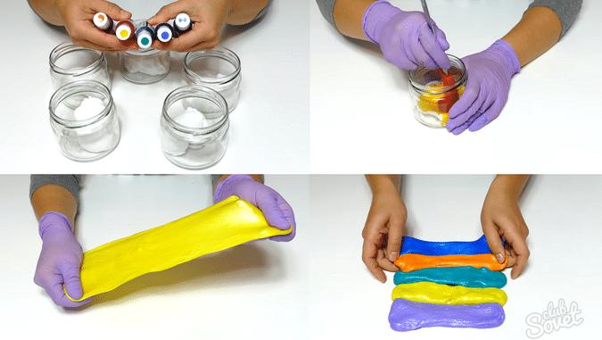 Как сделать игрушку лизун