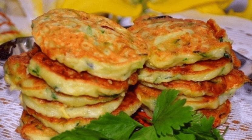 Оладьи из кабачков: простые рецепты пышных оладьев, приготовленных быстро и вкусно