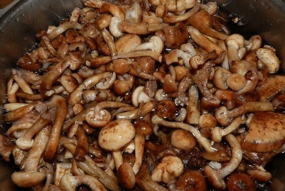 Повторно промыть грибы