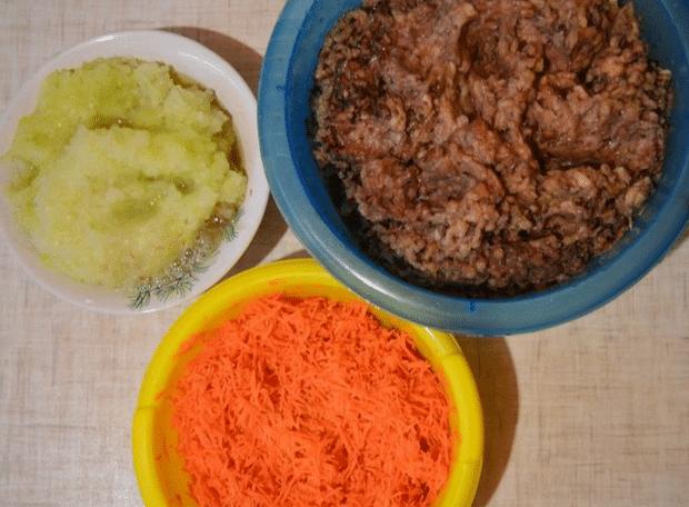 Грибная икра с луком и морковью