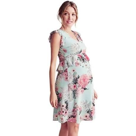 Легкое летнее платье для беременных