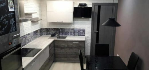 Кухня в лофт стиле