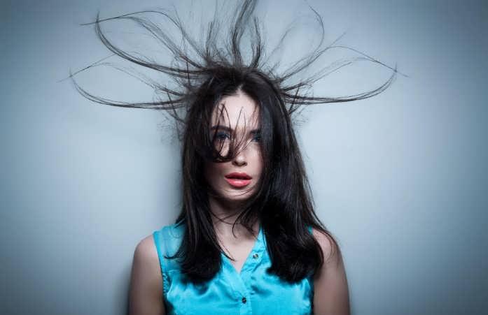 Электризация волос в зимний период